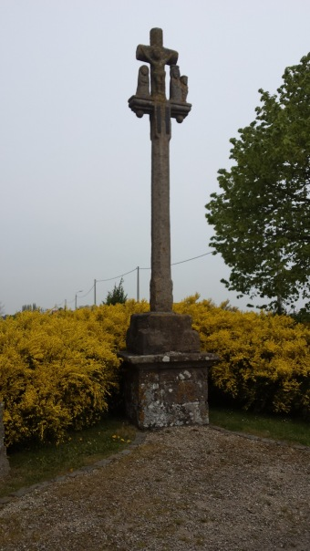 Franse gedenkplaats WO I Carrefour des Roses - French Memorial WW I - Mémorial Carrefour de Roses ©YRH2015