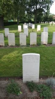 begraafplaats WO I Lijssent Hoek (Poperinge) - Lijssent Hoek Cemetery (Poperinge) - Lijssent Hoek Cimetière (Poperinge) ©YRH2015