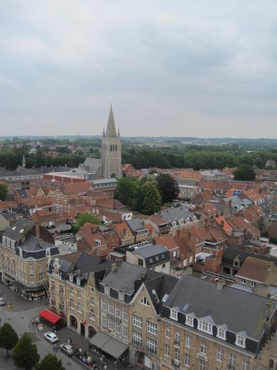 Sint-Jacobskerk zicht vanop belfort - St. Peter's Church vieuw from belltower - Eglise St. Pierre vue du beffroi ©YRH2015