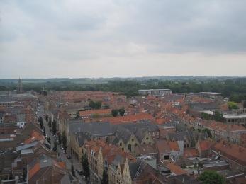 zicht vanop belfort - vieuw from belltower - vue du beffroi ©YRH2015