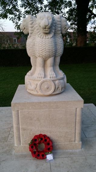 Indisch monument bij de Menenpoort - Indian monumant at Menin Gate - Monument indien à la Porte de Menin ©YRH2016